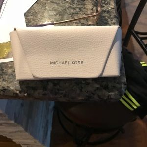Used Michael Kors Purple Sunglasses